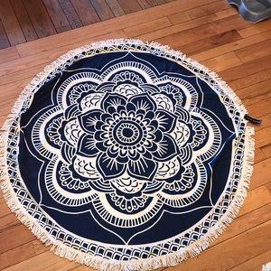 5 feet circle beach blanket